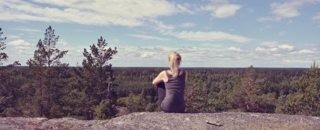 Ruhe in den Bergen Schwedens