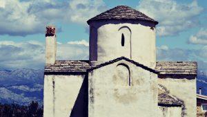 Ein alte Kapelle in Nin