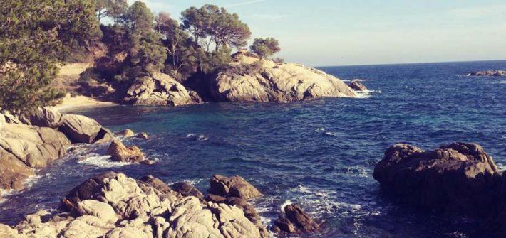 Costa Bravas Küste