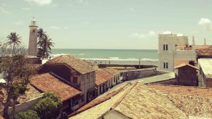 Stadtmauer des Galle Fort Sri Lanka