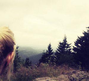 Aussicht vom großen Inselberg ins Tal