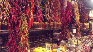 Marktstand in Barcelona