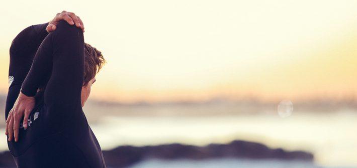 Yoga und Surfen als Kombination