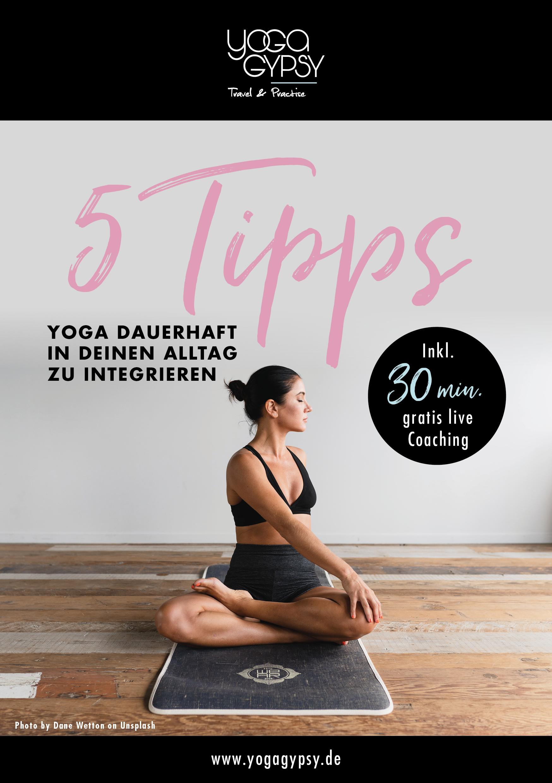 Ratgeber Yoga in den Alltag integrieren